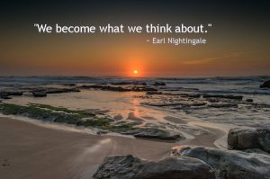We Become What We Think About_beach